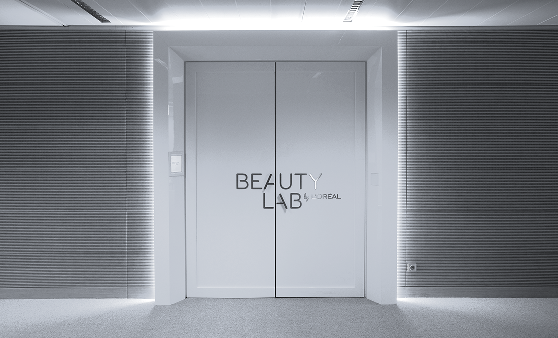 BEAUTYLAB LOREAL_photo porte